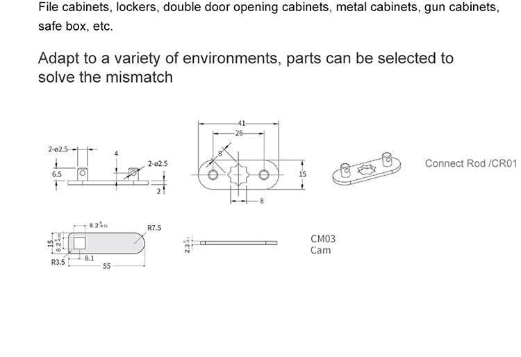 D153-Lockers lock (21)